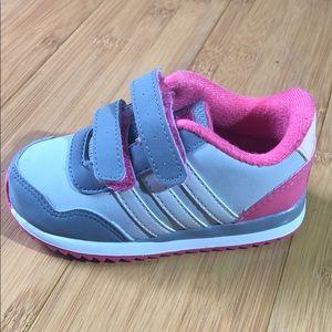 Adidas NEO Kids' V Jog CMF Sneaker pearl grey 5.5